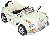 Fab N Funky Battery Operated Kids Car RC - Light Green