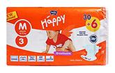 Bella Baby Happy Diapers Medium - 36 Pieces