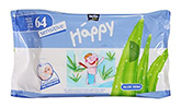 Bella Baby - Sensitive Wet Wipes 64 Pieces, Gentle wet wipes