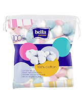 Bella Cotton - Cotton Balls 100 Balls, Fluffy, gentle and absorbent