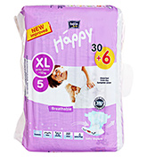 Bella Baby - Diaper Extra Large (12+ Kg), 30+6 Pieces
