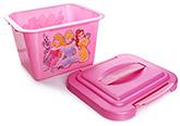 Buy Disney Princess Print Handy Storage Box - Pink