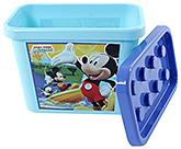 Buy Disney Multi Block Blue Container Box - 8 Litre