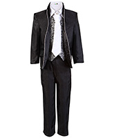 SAPS Full Sleeves 5 Piece Party Suit - Machine Embroidery Jacket