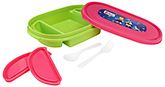 Buy Pep India Lunch Boxes Fafa Juno -  Green and Pink