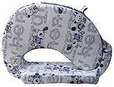 Buy Nina Feeding Pillow Teddy Print - Grey