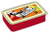 Buy Kung Fu Panda Lunch Boxes - Red