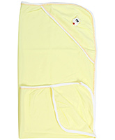 Mouse Patch Bath Towel  - Yellow
