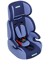 High Back Car Seat Blue - Upto 14 Kg