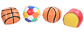 Multi Colored Baby Playing Balls - Set of 4