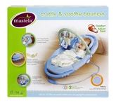 Mastela - Cradle & Soothe Bouncer Blue