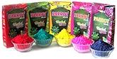 Buy Tota Herbal Gulal Box Pack 100 gm - Pack of 5 Assorted Colors