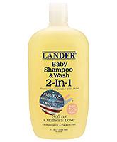 Buy Lander Baby 2 in 1 Shampoo and Body Wash - 15 Oz