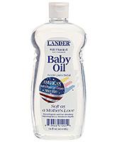 Buy Lander Baby Oil with Vitamin E  - 14 Oz