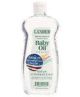 Buy Lander Baby Oil with Vitamin E and Aloe Vera - 14 Oz