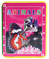 Animals Early Learning Picture Books - Pink