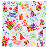 Buy Paper Napkins Janti Auguri Print White - 20 Pieces