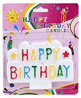 Buy Birthday Candle - Multicolor