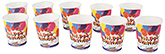 Buy Paper Cups Balloons Printed Red - Pack of 10