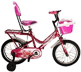 Buy Tobu Style Bicycle 16 Inches - Pink