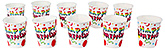 Buy Paper Cups Balloons Print White - Pack of 10