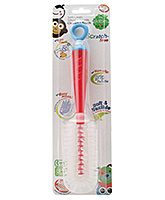 1st Step Silicone Bottle Brush - Red