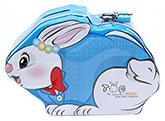 Buy Money Bank Rabbit Shape Blue