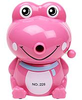 Pencil Sharpener Frog Shape - Pink