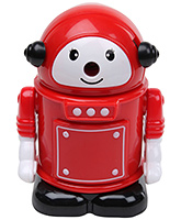 Robot Shape Pencil Sharpener - Red