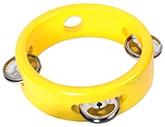 Buy Tidlo Mini Wooden Tambourine - Yellow