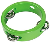 Buy Tidlo Mini Wooden Tambourine - Green