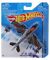 Buy Hotwheels  HW City Fang Fighter - Red And Black