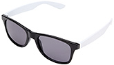 Baby Sunglasses Soft Square frame - Black and White