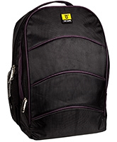Buy Top Gear Back Pack NB185 Black - 17 Inches
