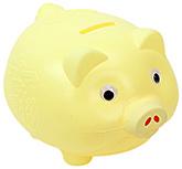 Buy Fab N Funky Piggy Bank - Yellow