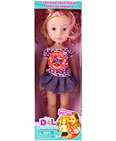 Buy Fab N Funky Musical Doll - Purple and Blue