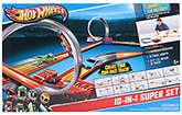 Hotwheels 10 In 1 Super Set