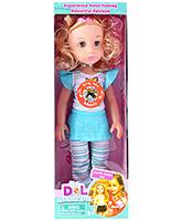 Buy Fab N Funky Musical Baby Doll - Blue