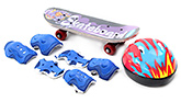 Fab N Funky Skating Set - Purple and Blue