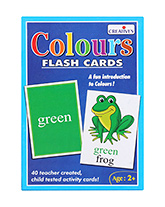 Creatives - Colors Flash Cards - 2 Years+