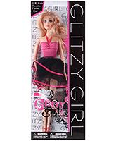 Buy Fab N Funky Doll Glitzy Girl - Pink and Black