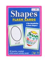 Creatives - Shapes Flash Cards 2 Years+, A Fun Introduction To Basic Shapes