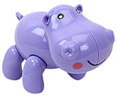 Buy Fab N Funky Baby Hippo Twist and Rotate Toy - Purple