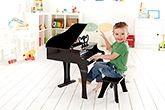 Hape Happy Grand Piano - Black