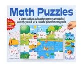 Creatives - Math Puzzles 5 Years+, A Set Of Three 25 Piece Puzzle