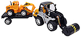 Fab N Funky Construction Truck Toy - Orange and Black