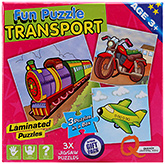 Buy Quixot Fun Puzzles - Transport
