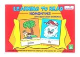 Creatives - Learning To Read Homonyms 4 Years +, Most Important First Step In Child's Educ...