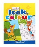 Creatives - Look & Colour - Wild Animals 1