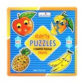 Buy Creative''s - Early Puzzles - 4 Shaped Puzzles Fruits